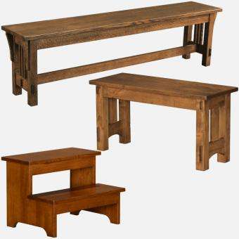 Stuart David Benches & Stepstools