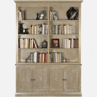 Library 2-Piece Bookcase