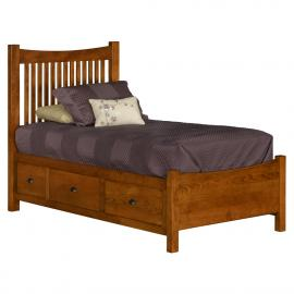 Lilly Anne Bed with 6 Drawers Stuart-David-Bedroom-Bed-Lilly-Anne-3KS-99C-dressed.jpg