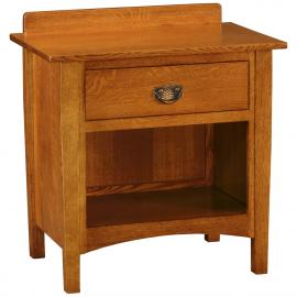 Saratoga Open Nightstand with Splash Stuart-David-Bedroom-Saratoga-Nightstand-BN-951-[S2]-Q.jpg