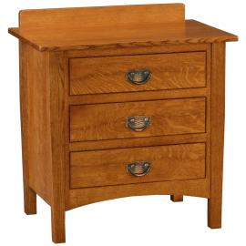 Saratoga Drawer Nightstand with Splash Stuart-David-Bedroom-Saratoga-Nightstand-BN-952-[S2]-Q.jpg