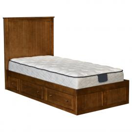 Valley Pedestal Bed